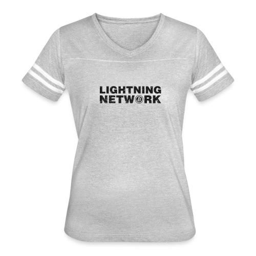 Lightning Network Bitcoin Tshirt - Women's Vintage Sport T-Shirt