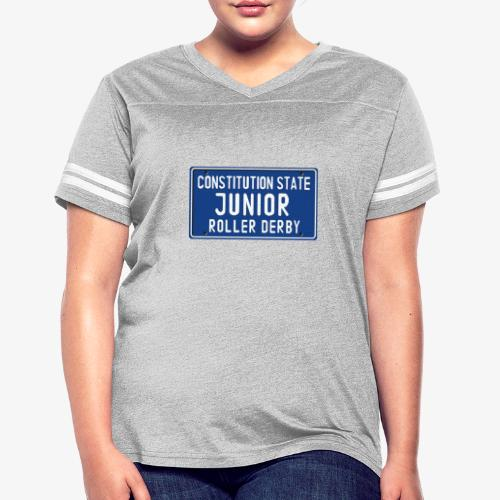 Constitution State Junior Roller Derby - Women's Vintage Sport T-Shirt