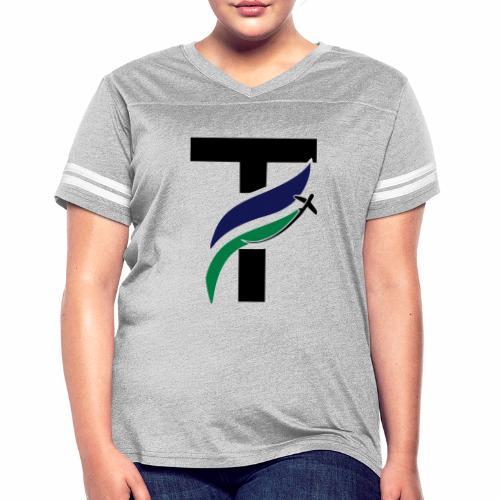 newtakeoff logo - Women's Vintage Sport T-Shirt
