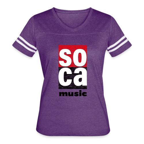 Soca music - Women's Vintage Sport T-Shirt