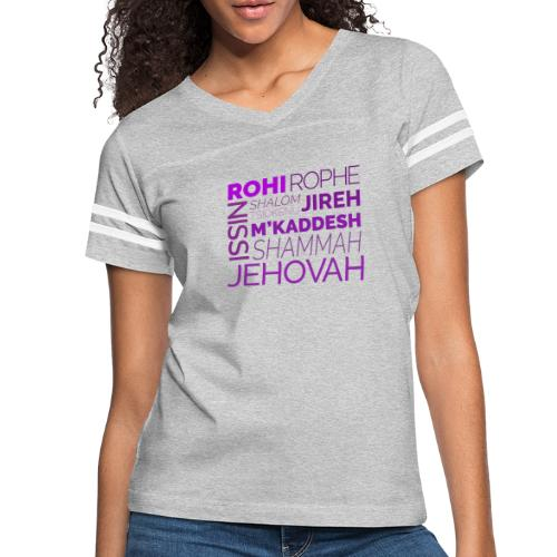 Jehovah Tee - Women's Vintage Sport T-Shirt
