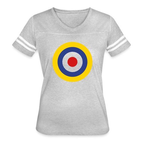 UK Symbol - Axis & Allies - Women's Vintage Sports T-Shirt