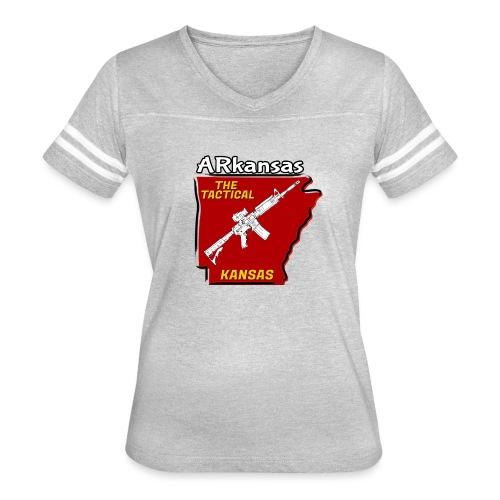 Tactical Kansas - Women's Vintage Sports T-Shirt