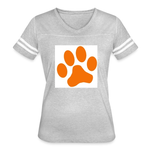 Orange Paw Stuff - Women's Vintage Sport T-Shirt