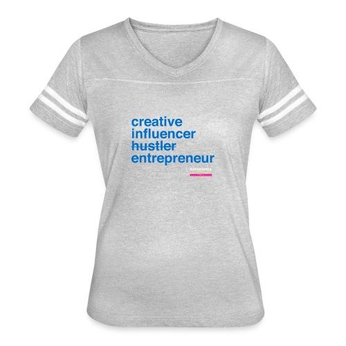 Marketing & Millennial Tee - Women's Vintage Sport T-Shirt