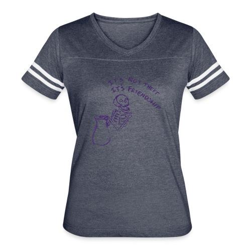 tax n friends - Women's Vintage Sport T-Shirt