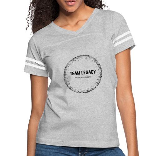 Black logo no background - Women's Vintage Sport T-Shirt