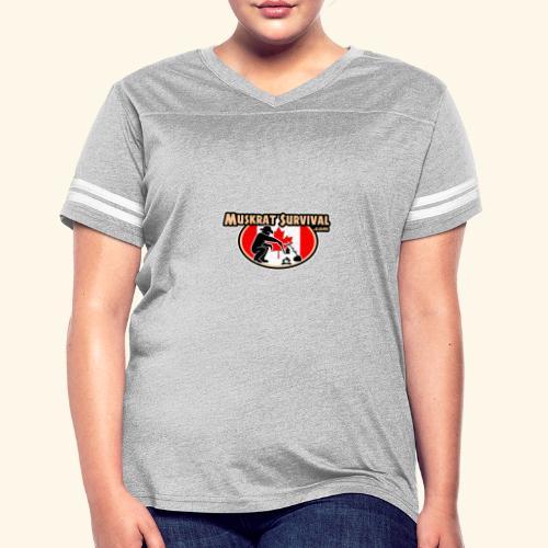 Muskrat Badge 2019 - Women's Vintage Sport T-Shirt