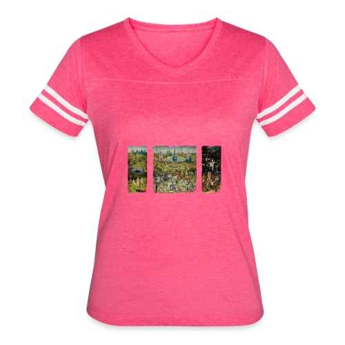 Garden Of Earthly Delights - Women's Vintage Sport T-Shirt