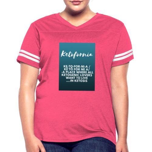 Ketofornia - Women's Vintage Sport T-Shirt