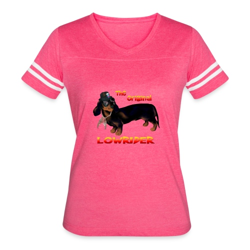 The Original Lowrider - Women's Vintage Sport T-Shirt