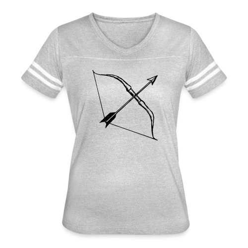 bow and arrow 3 - Women's Vintage Sport T-Shirt