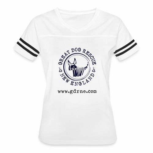 GDRNE Logo - Women's Vintage Sport T-Shirt