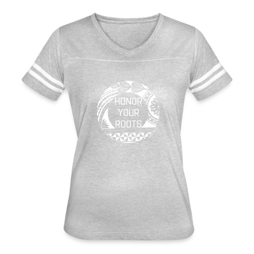Honor Your Roots (White) - Women's Vintage Sport T-Shirt