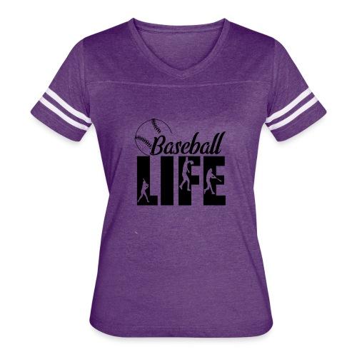 Baseball life - Women's Vintage Sport T-Shirt