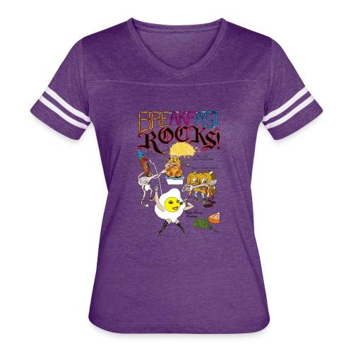 Breakfast Rocks! - Women's Vintage Sport T-Shirt