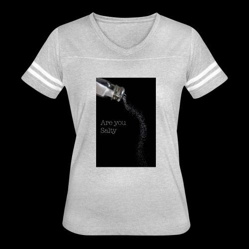 E1EC8123 AF44 4433 A6FE 5DD8FBC5CCFE Are you Salty - Women's Vintage Sport T-Shirt