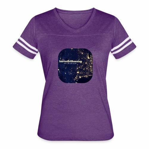 "InovativObsesion ""TURN ON YOU LIGHT"" Apparel - Women's Vintage Sport T-Shirt"