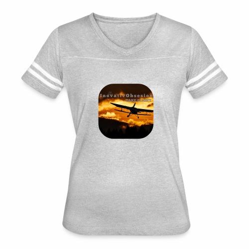 "InovativObsesion ""TAKE FLIGHT"" apparel - Women's Vintage Sport T-Shirt"