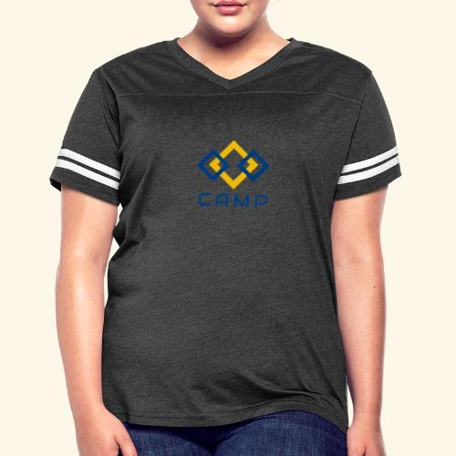 CAMP LOGO and products - Women's Vintage Sport T-Shirt