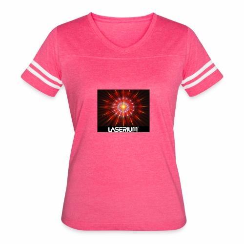 LASERIUM Laser starburst - Women's Vintage Sport T-Shirt