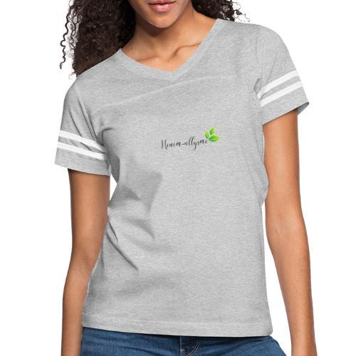 Logo de base - T-shirt sport rétro pour femmes