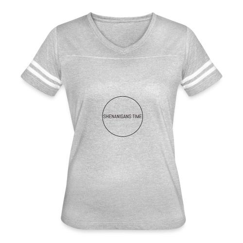 LOGO ONE - Women's Vintage Sport T-Shirt