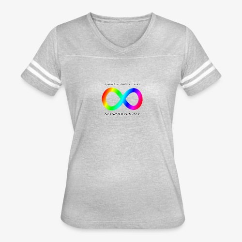 Embrace Neurodiversity - Women's Vintage Sport T-Shirt