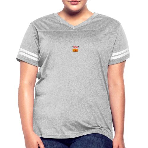 Royal King Design - Women's Vintage Sports T-Shirt