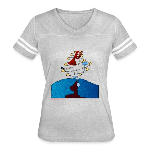 Girl and name shirt - Women's Vintage Sport T-Shirt