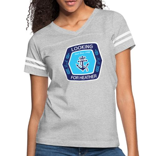 Looking For Heather Stock Logo - Women's Vintage Sport T-Shirt
