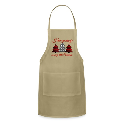 Merry Little Christmas - Adjustable Apron