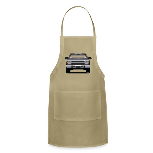 Design Icon: American Bowtie Silver Urban Truck - Adjustable Apron