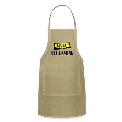 Live Streaming - Adjustable Apron