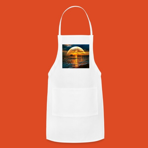 sunrise of the gamers - Adjustable Apron