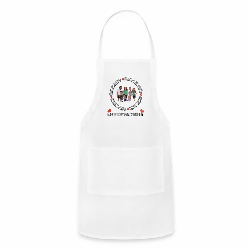 Measure with your Heart! - Adjustable Apron