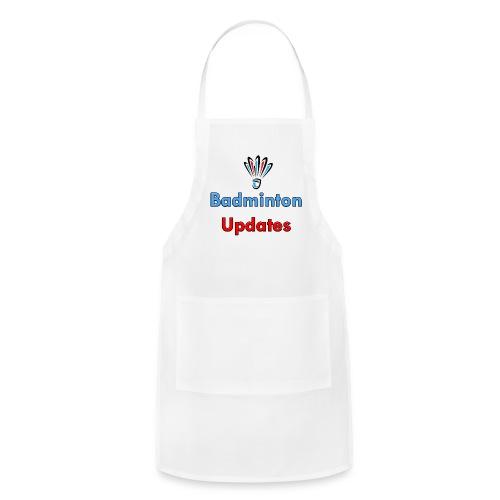 Badminton Updates Logo - Adjustable Apron