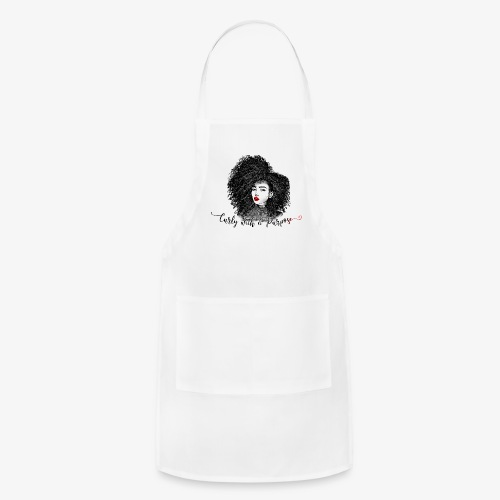 Curly With A Purpose - Adjustable Apron