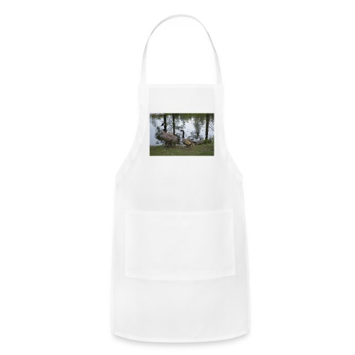 Geese w/ young - Adjustable Apron