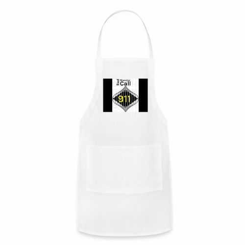 Premium merch from radmonster Call 911 - Adjustable Apron