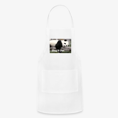Hug It out Panda Merch - Adjustable Apron