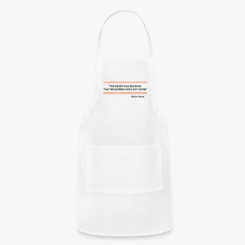 Blaise Pascal - Quote - Adjustable Apron