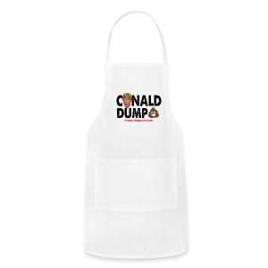 Conald Dump Worst President Ever - Adjustable Apron