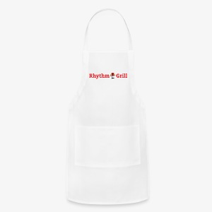 Rhythm Grill word logo - Adjustable Apron