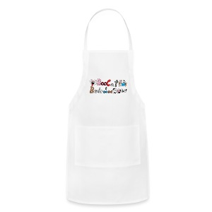 Boo Cat And Bedroom Cow - Adjustable Apron