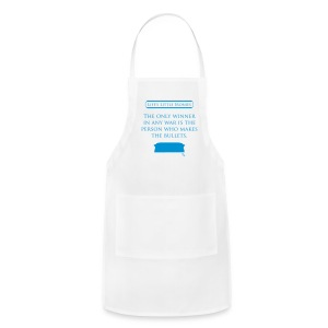 Life's Little Ironies - The Winner of War - Adjustable Apron