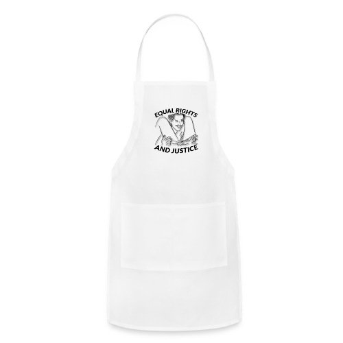 Equal Rights & Justice Tee - Adjustable Apron