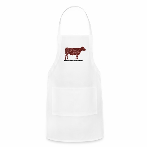 Cuts of the Cow - Adjustable Apron