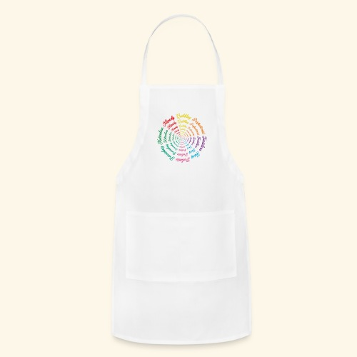 Wordy Tee - Adjustable Apron