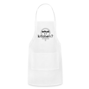 what's a kitchen - Adjustable Apron